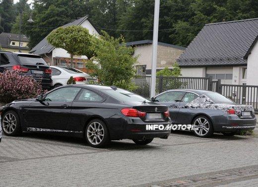 BMW Serie 4 Cabrio nuove immagini spia - Foto 24 di 26