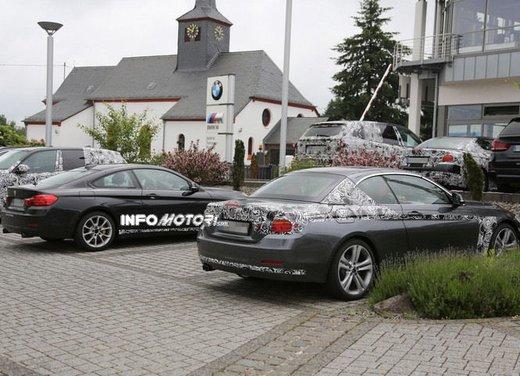 BMW Serie 4 Cabrio nuove immagini spia - Foto 25 di 26