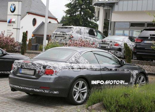 BMW Serie 4 Cabrio nuove immagini spia - Foto 26 di 26
