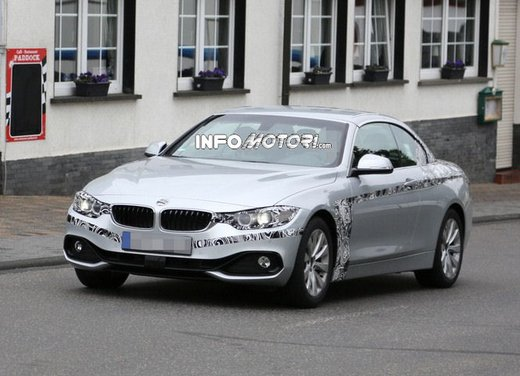 BMW Serie 4 Cabrio nuove immagini spia - Foto 10 di 26
