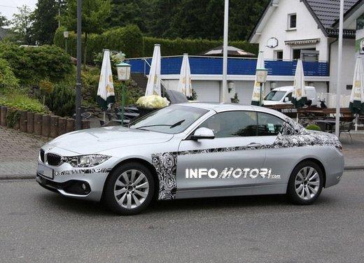 BMW Serie 4 Cabrio nuove immagini spia - Foto 11 di 26