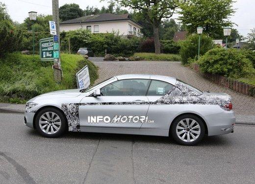 BMW Serie 4 Cabrio nuove immagini spia - Foto 12 di 26