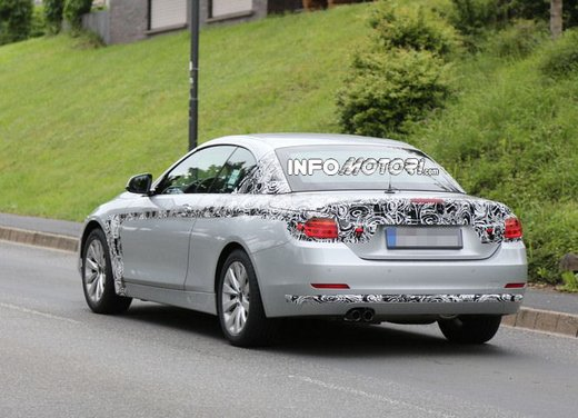 BMW Serie 4 Cabrio nuove immagini spia - Foto 14 di 26