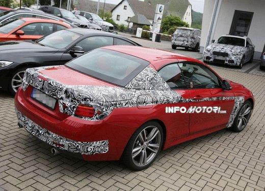 BMW Serie 4 Cabrio nuove immagini spia - Foto 16 di 26