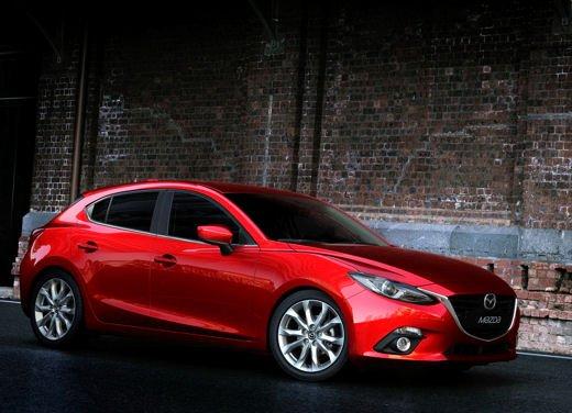 Nuova Mazda3 con listino prezzi che parte da 17.400 euro