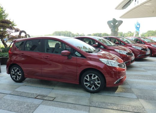 Nissan Note test drive a Bratislava