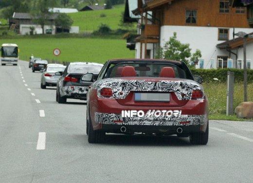 BMW Serie 4 Cabrio nuove immagini spia - Foto 4 di 26