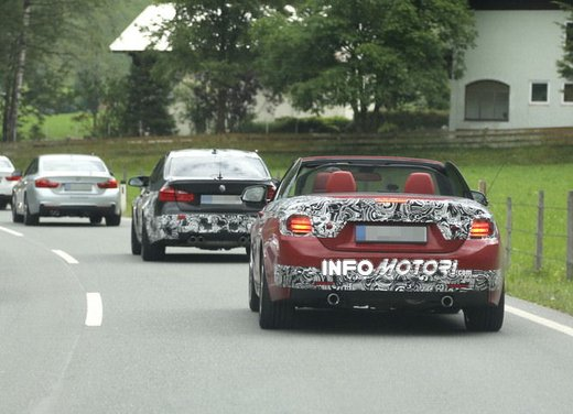 BMW Serie 4 Cabrio nuove immagini spia - Foto 5 di 26