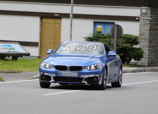 BMW Serie 4 Cabrio nuove immagini spia - Foto 6 di 26