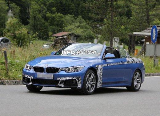 BMW Serie 4 Cabrio nuove immagini spia - Foto 7 di 26