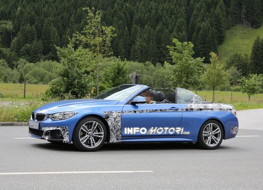 BMW Serie 4 Cabrio nuove immagini spia - Foto 8 di 26