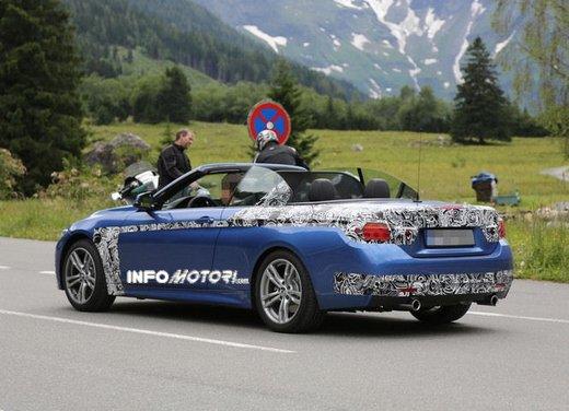 BMW Serie 4 Cabrio nuove immagini spia - Foto 2 di 26
