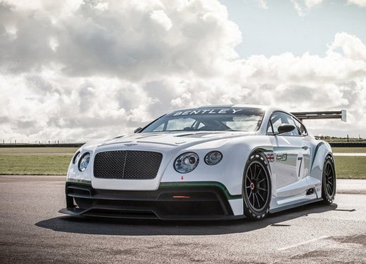 Bentley Continental GT3 versione sportiva da 600 CV