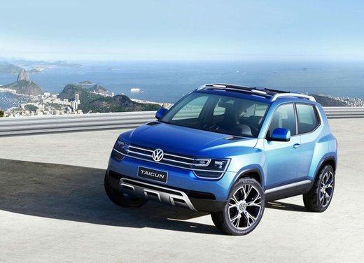 Volkswagen Taigun, il mini suv Volkswagen arriva nel 2016 - Foto 7 di 12
