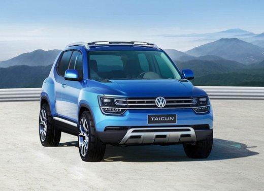Volkswagen Taigun, il mini suv Volkswagen arriva nel 2016 - Foto 8 di 12