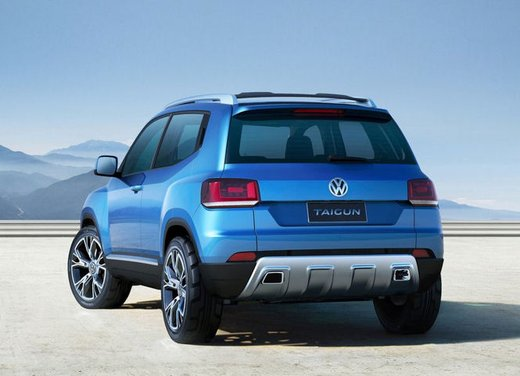 Volkswagen Taigun, il mini suv Volkswagen arriva nel 2016 - Foto 4 di 12