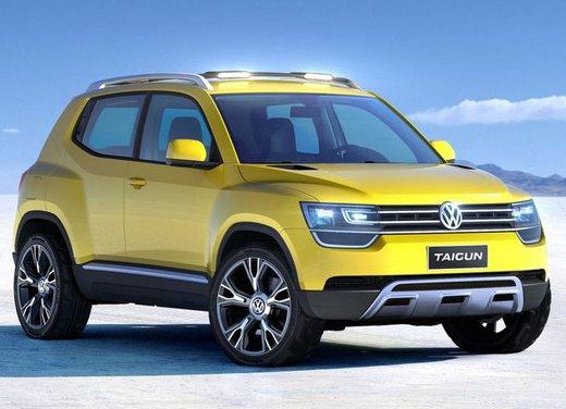 Volkswagen Taigun, il mini suv Volkswagen arriva nel 2016 - Foto 6 di 12