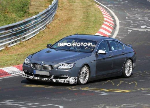 BMW Serie 6 Gran Coupè foto spia su pista