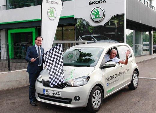 Skoda Citigo la citycar che punta al record di economy run nel CNG Tour - Foto 1 di 10