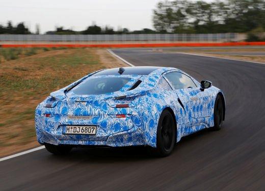 BMW i8, info tecniche e dati della ibrida sportiva - Foto 5 di 14