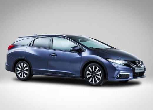 Honda Civic Tourer, la versione station wagon