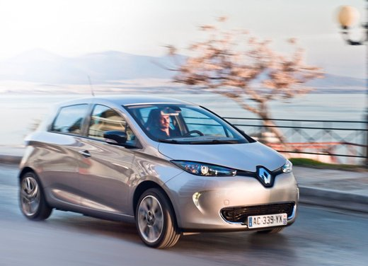 Renault Zoe, l'auto elettrica francese, vince il Red Dot Award 2013