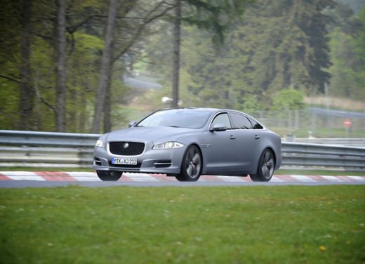 Jaguar XJ Supersport video dell'incidente al Nurburgring