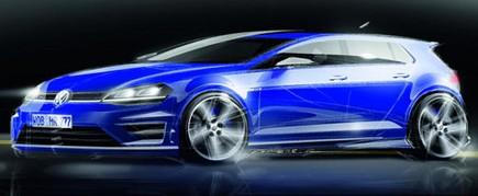 Volkswagen Golf R porta i suoi 300 CV al Salone di Francoforte - Foto 4 di 4