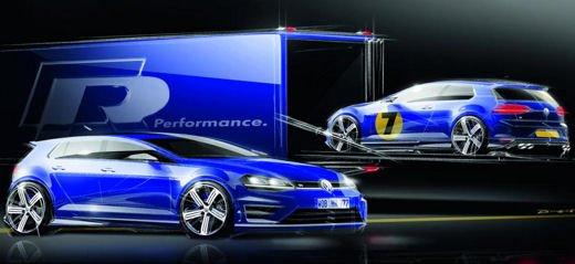 Volkswagen Golf R porta i suoi 300 CV al Salone di Francoforte - Foto 3 di 4
