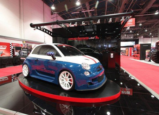 500 Abarth Cinquone Tributo USA by Romeo Ferraris