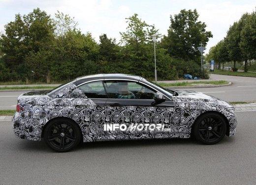 BMW M4 Cabrio foto spia - Foto 7 di 8