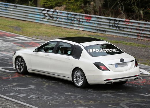 Mercedes Classe S XL foto spia - Foto 11 di 16