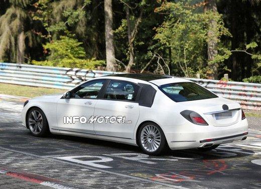 Mercedes Classe S XL foto spia - Foto 13 di 16