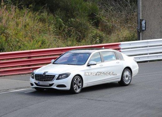 Mercedes Classe S XL foto spia - Foto 14 di 16