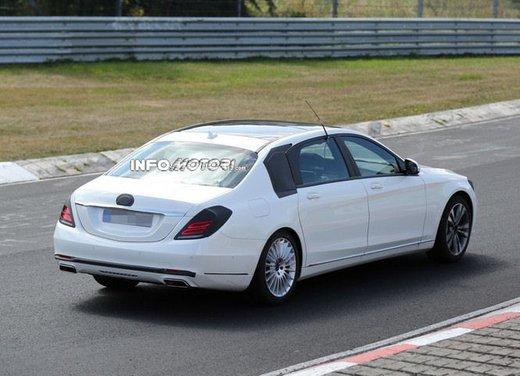 Mercedes Classe S XL foto spia - Foto 1 di 16
