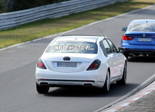 Mercedes Classe S XL foto spia - Foto 2 di 16