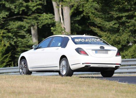 Mercedes Classe S XL foto spia - Foto 6 di 16