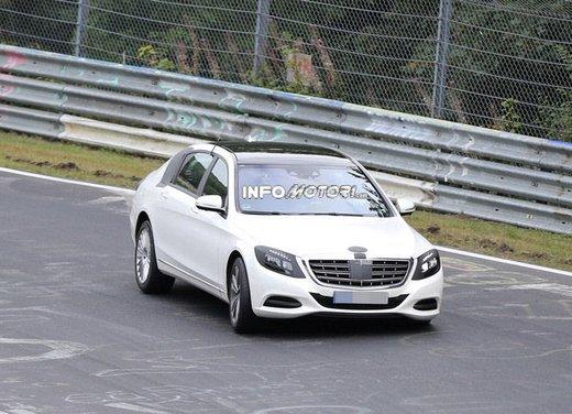 Mercedes Classe S XL foto spia - Foto 7 di 16