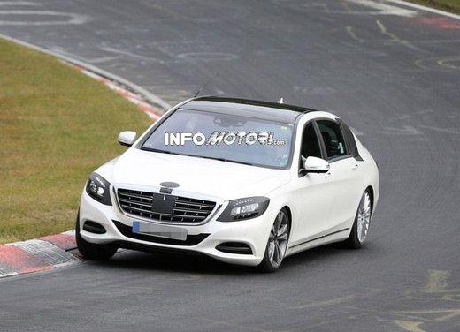 Mercedes Classe S XL foto spia - Foto 8 di 16