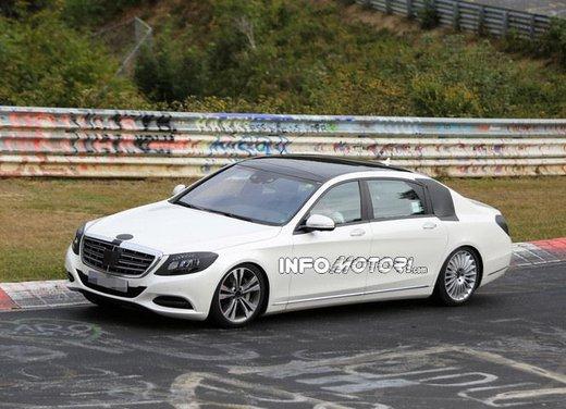 Mercedes Classe S XL foto spia - Foto 9 di 16
