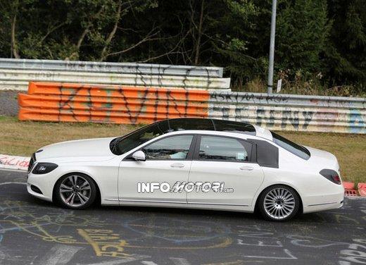 Mercedes Classe S XL foto spia - Foto 10 di 16