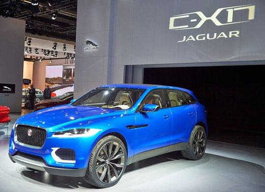 Jaguar C-X17 Concept - Foto 3 di 13