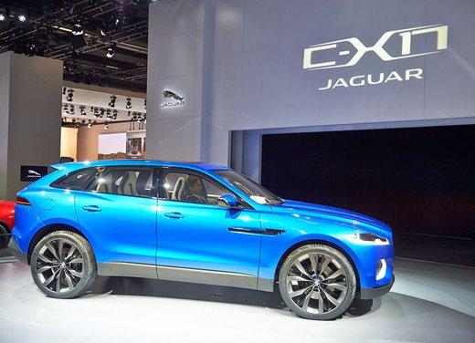 Jaguar C-X17 Concept - Foto 4 di 13