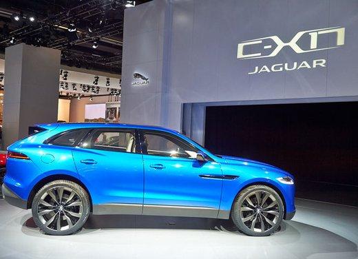 Jaguar C-X17 Concept - Foto 5 di 13