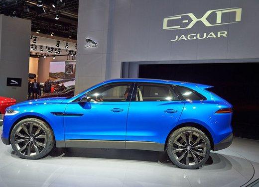 Jaguar C-X17 Concept - Foto 7 di 13