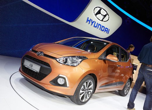 Nuova Hyundai i10 in arrivo a novembre - Foto 5 di 10