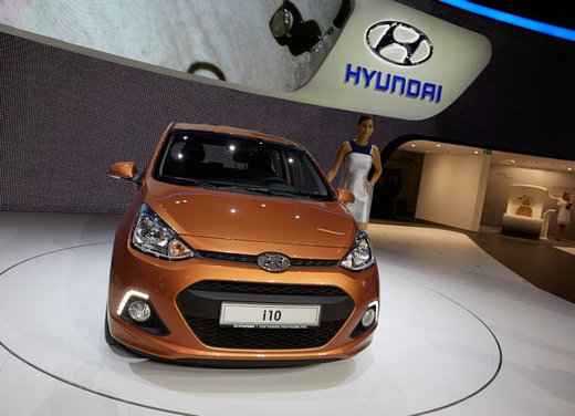 Nuova Hyundai i10 in arrivo a novembre - Foto 3 di 10