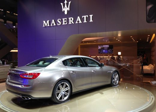 Maserati Quattroporte Ermenegildo Zegna Concept - Foto 2 di 6
