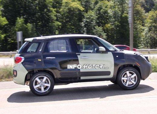 Fiat Jeep baby SUV foto spia della nuova piattaforma compatta - Foto 12 di 16