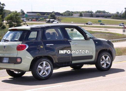 Fiat Jeep baby SUV foto spia della nuova piattaforma compatta - Foto 13 di 16